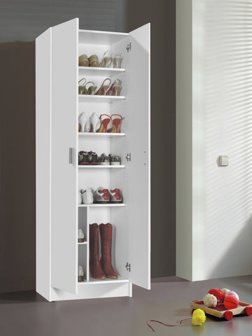 VITA Utility 2 Door Boot Cupboard - 2 Colours - Online4furniture