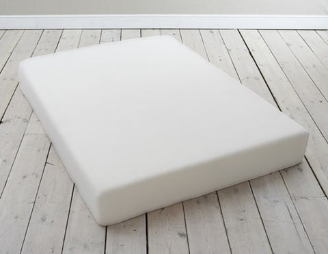 4FT Memory Foam Mattress 25cm Thick with Memory Foam Pillows