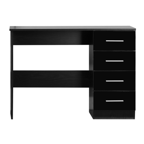 REFLECT High Gloss 4 Drawer Dressign Table / Desk - 4 Colours - Online4furniture