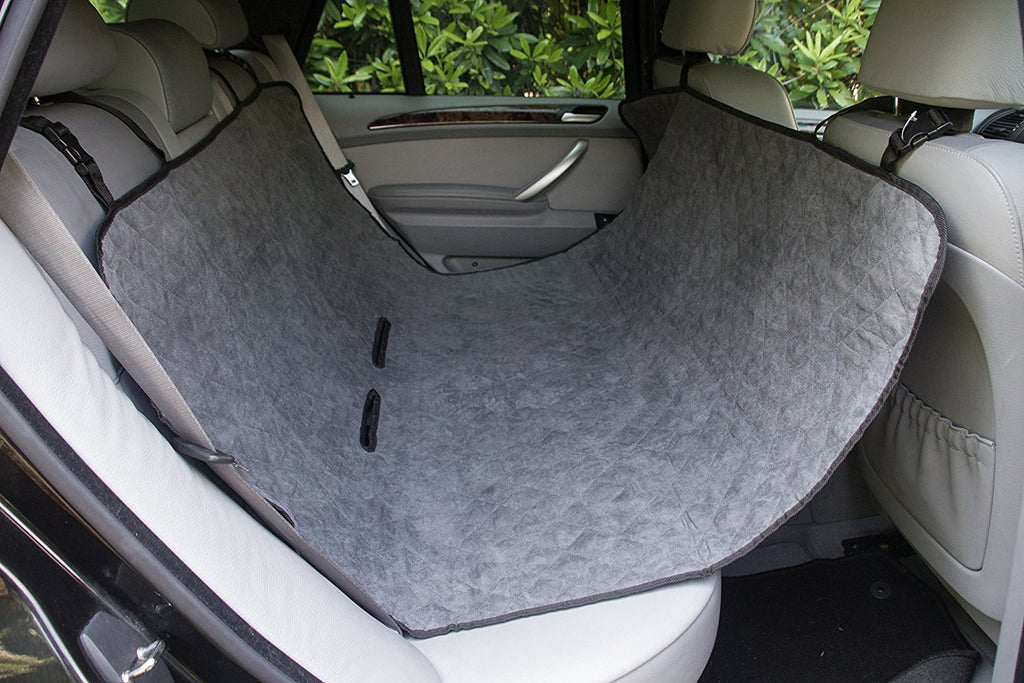 Learn about our Suede Car Back Seat Protector - Anti Slip & Scratch Resistant