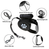 Retractable Leash with Torch - Pet's Finest