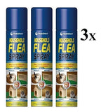 3 x Flea Spray - Pet's Finest