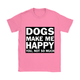 Happy - Ladies T Shirt - Pet's Finest