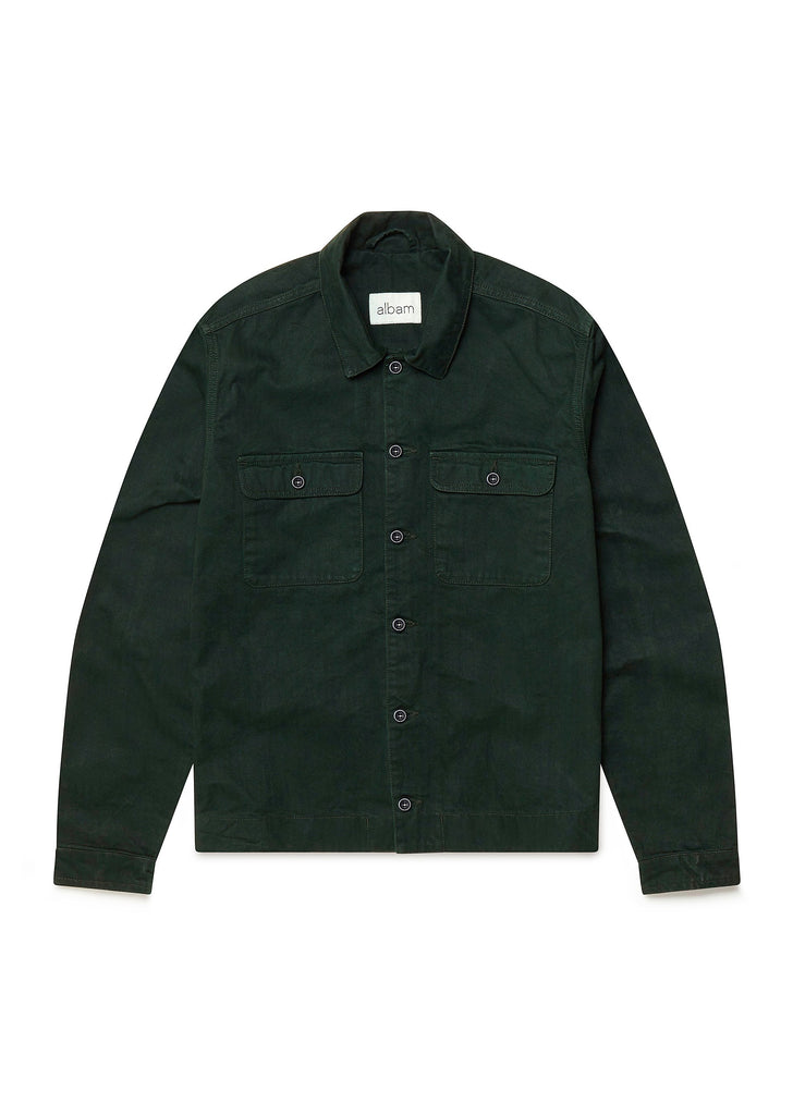 Press Herringbone Shirt