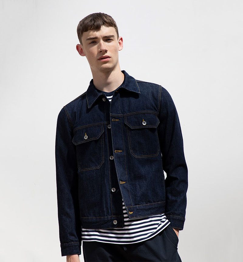 Albam Japanese Denim Utility Jacket AW18