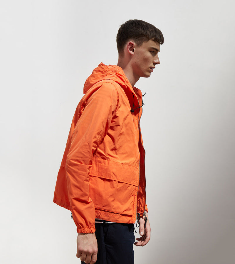 Albam Nylon Cagoule Burnt Orange AW18
