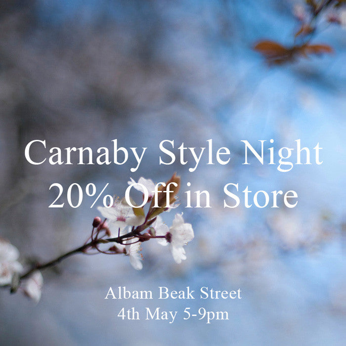 Carnaby Style night at Albam