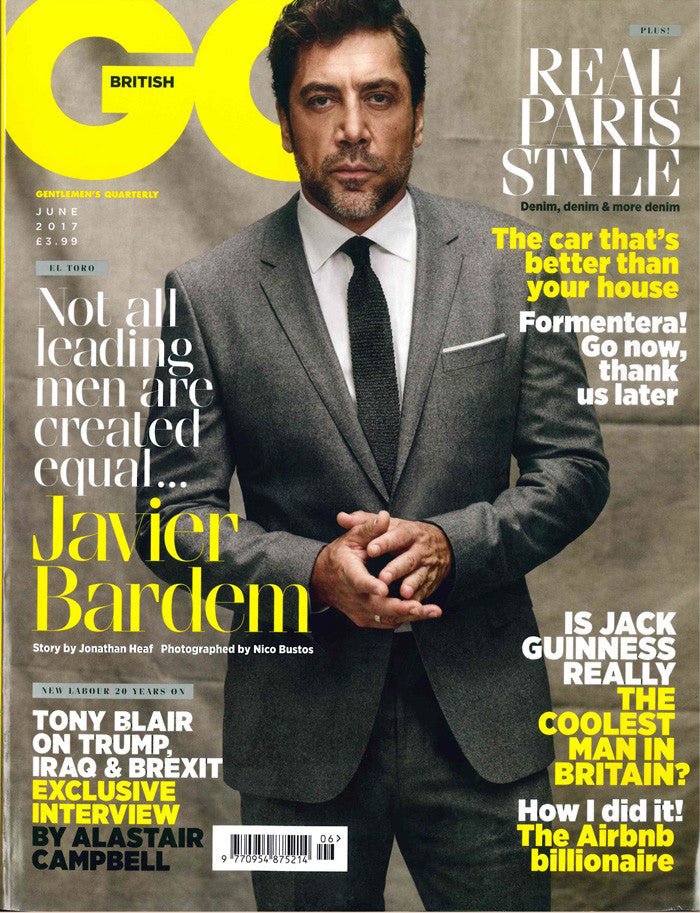 GQ June Cover