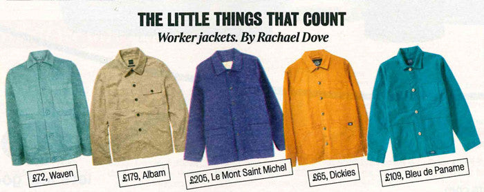 Albam Mechanics Jacket Times Magazine