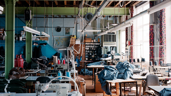 Made in England factory