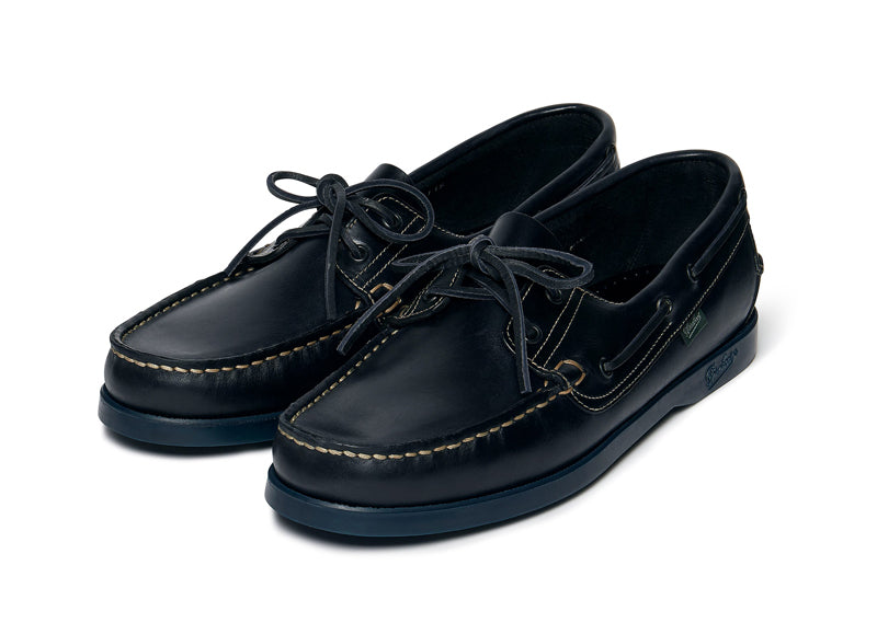 Paraboot Barth boat shoe in marine