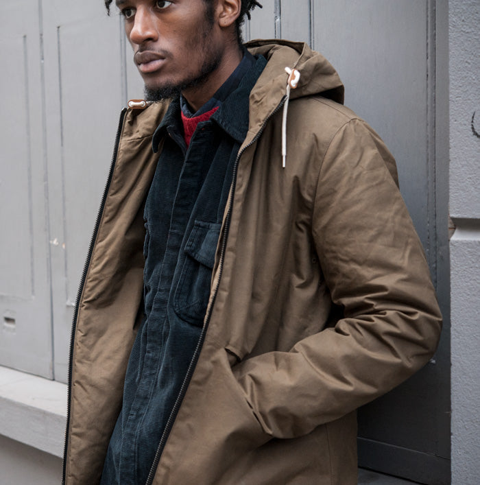 Albam Wadded Road Coat