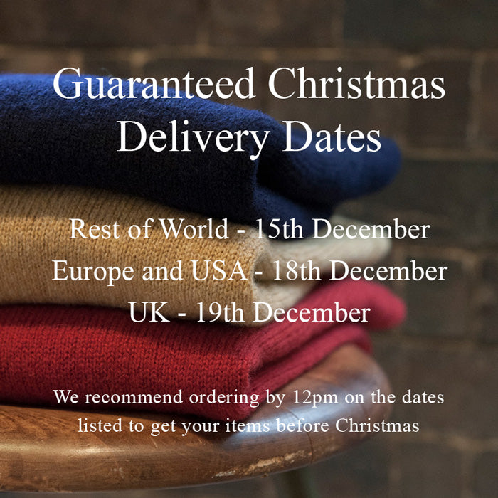 Albam Christmas Delivery deadliine