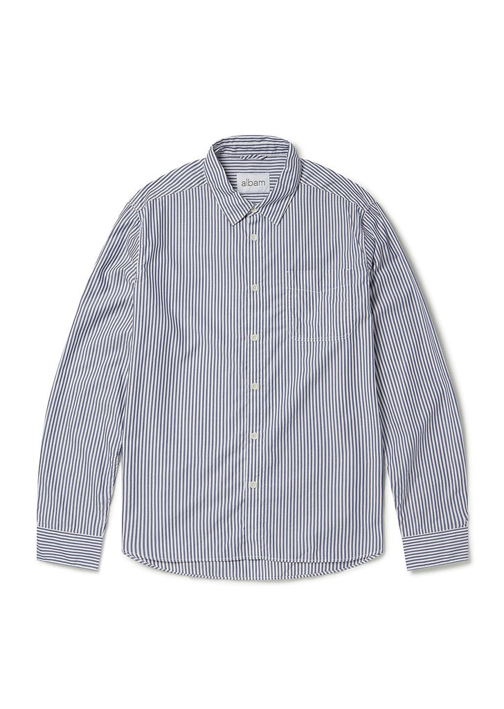 stripe hockney shirt