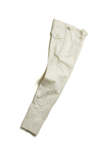 BDU Trouser in Ecru