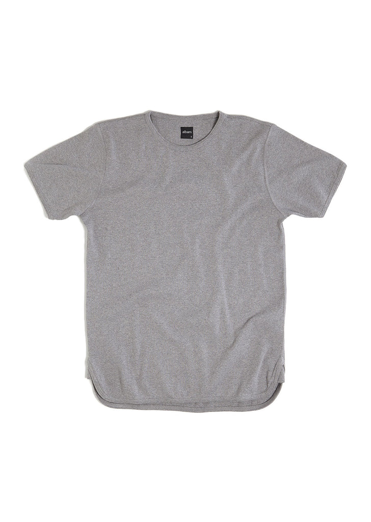 Vintage Gym Tee in Grey Marl