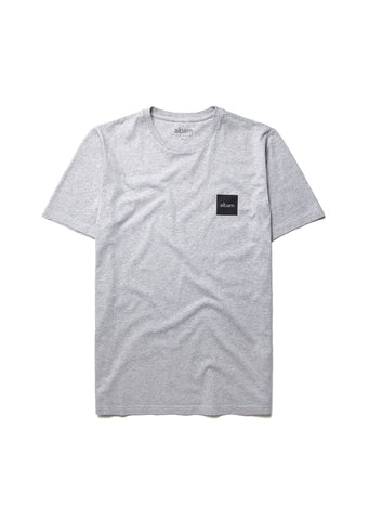 New - Decade Tee in Marl Grey