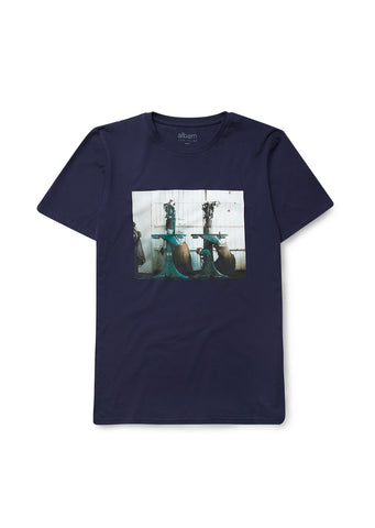 New - Rushden T-Shirt in Navy