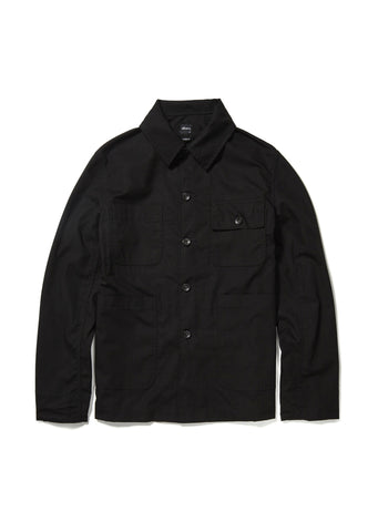 Mechanics Jacket in Black Ripstop