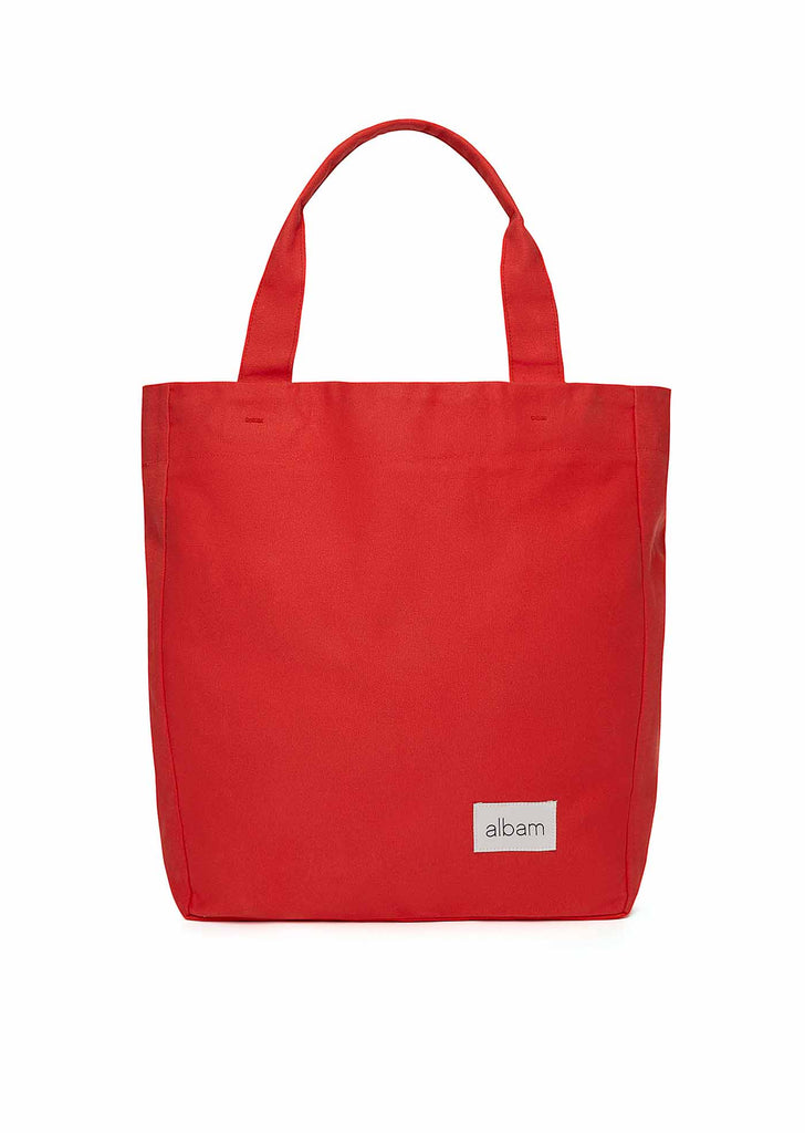 Canvas Tote in Red
