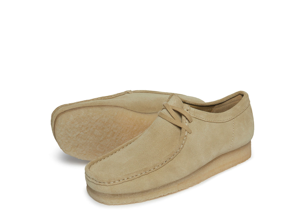 Clarks Wallabee in Maple Suede