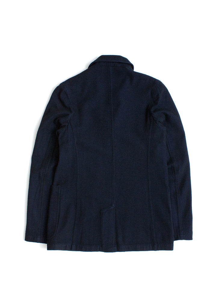Washed Indigo Blazer in Indigo