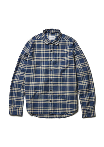 Correspondents Shirt in Blue Check
