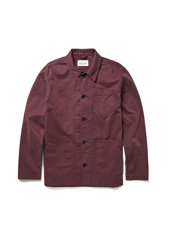 Loco Work Jacket in Plum