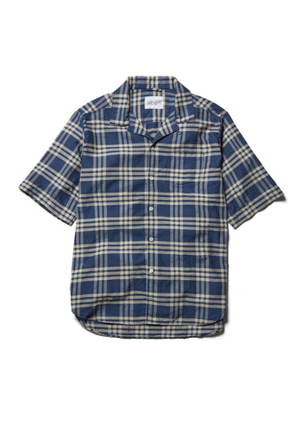Panama Shirt in Blue Check