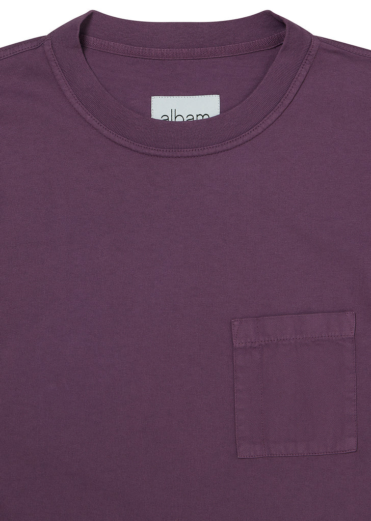 Workwear T-Shirt in Violet