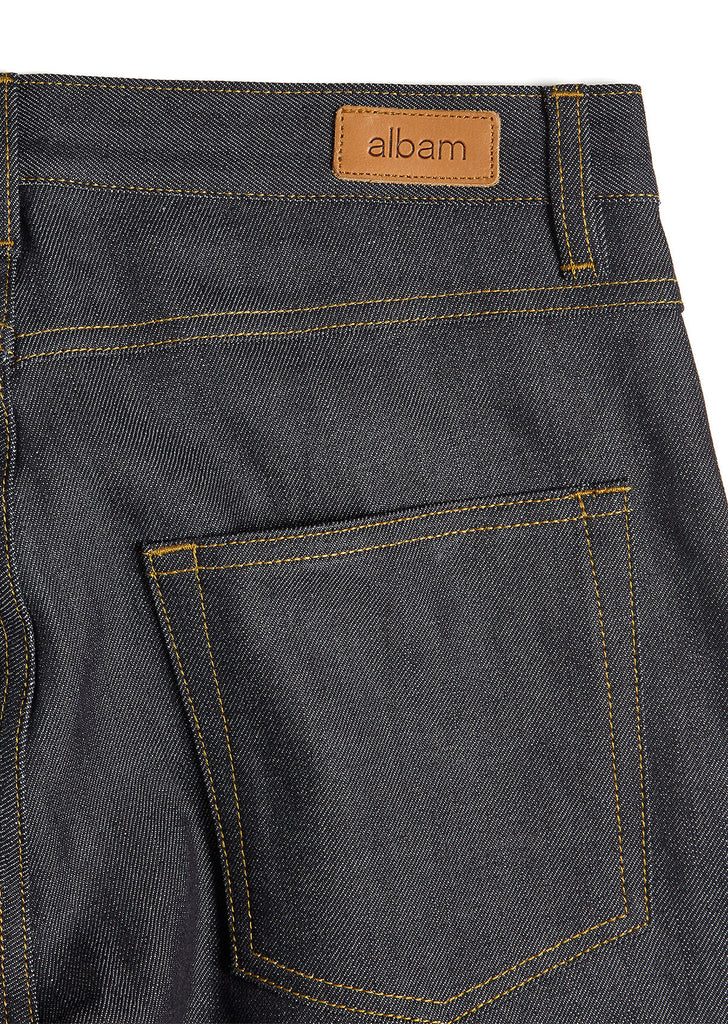Slim Leg Jean in Japanese Denim