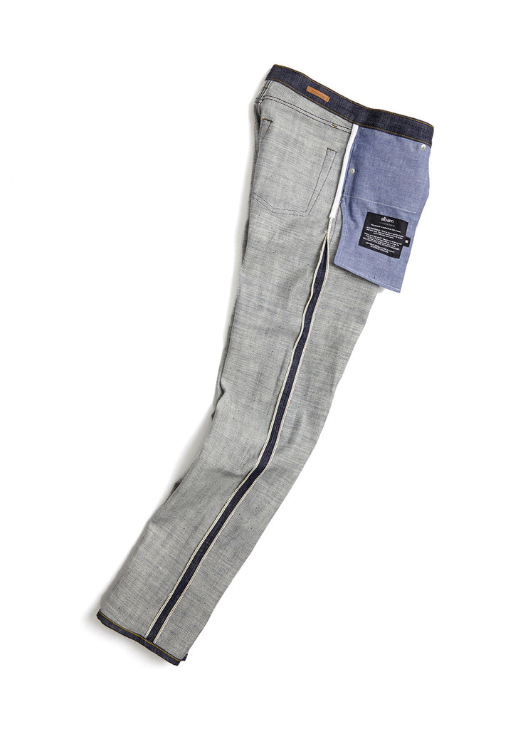 Regular Leg Jean in Loose Weave