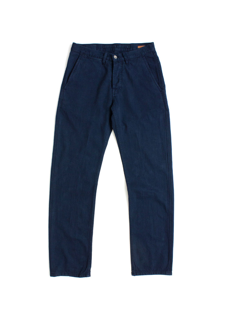 Selvedge Chino in Navy