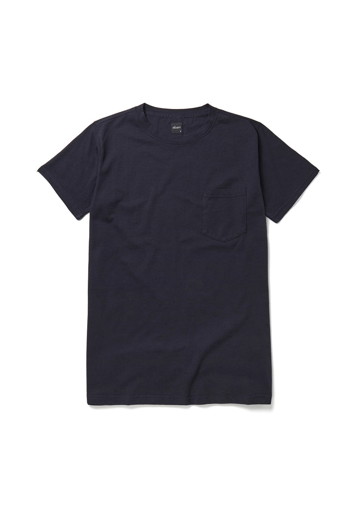 Pocket T-Shirt in Navy