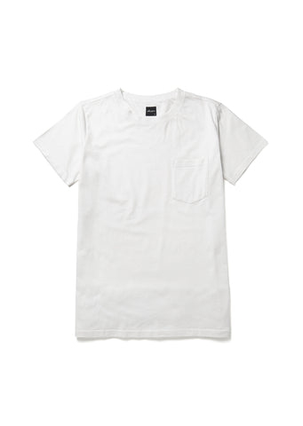 Pocket T-Shirt in Sail White