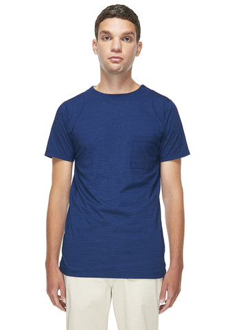 Indigo Tee in Stone Wash