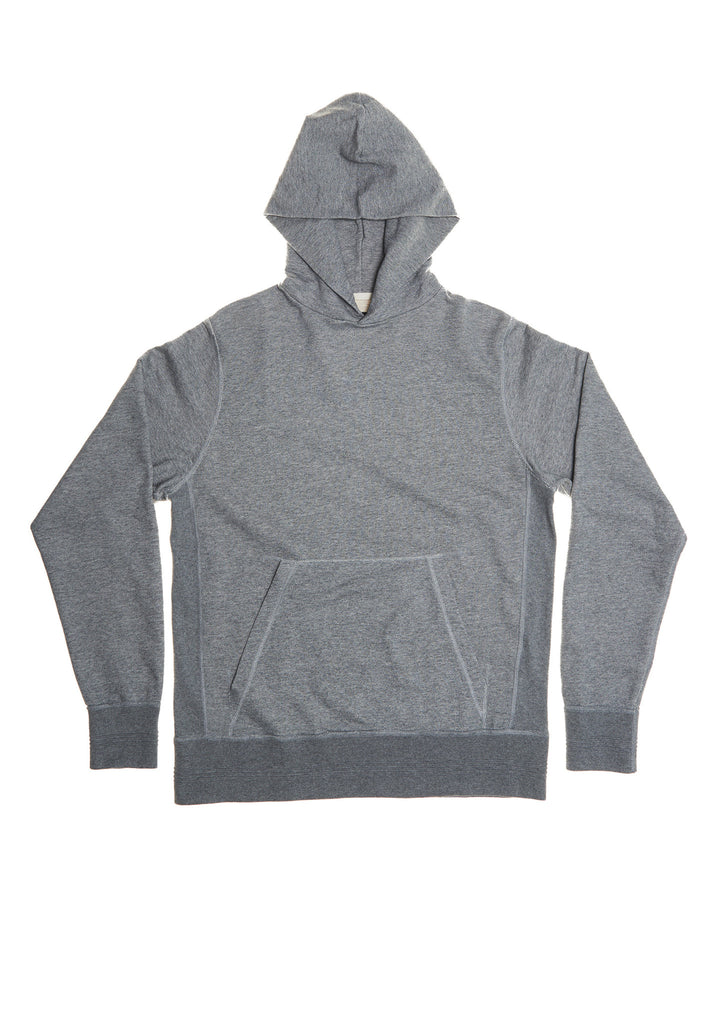 Hooded Sweatshirt in Grey Marl