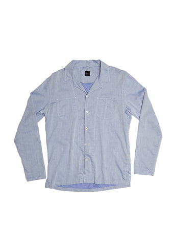 Rail Shirt in Ticking Stripe