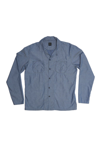 Rail Shirt in Chambray Jacquard