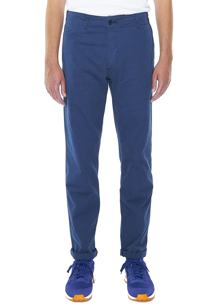 Indigo Fatigue Trouser in Indigo