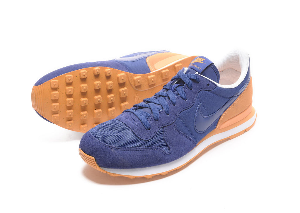 Nike Internationalist in Royal Blue/Orange