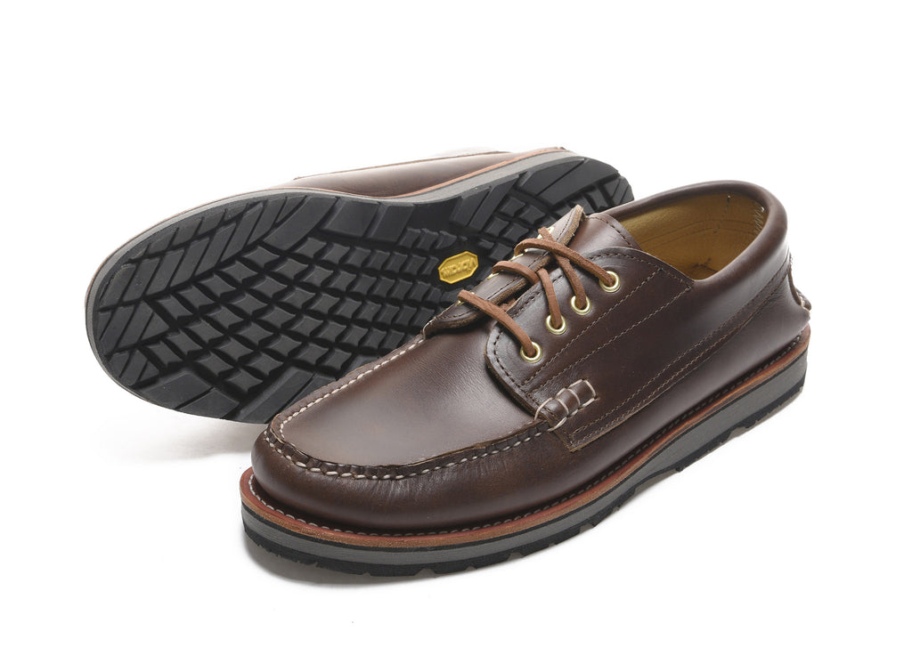 Cataumet Deck Shoe in Chromexcel Brown