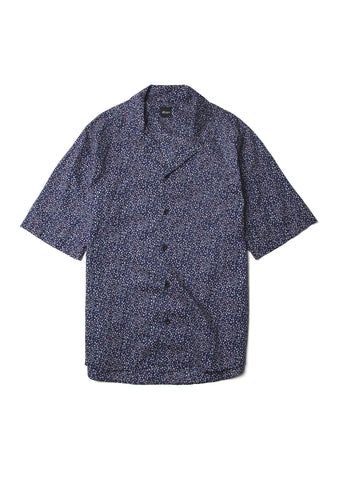 Panama Shirt in Navy Liberty Print