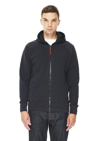 Zip Parka in Navy