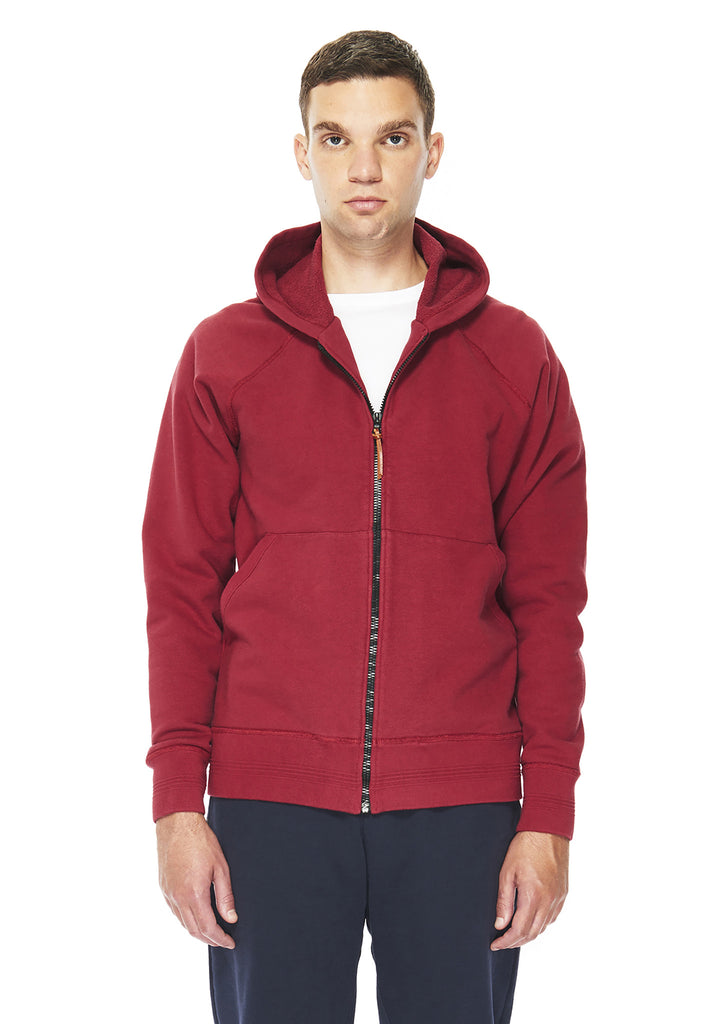 Zip Parka in Red