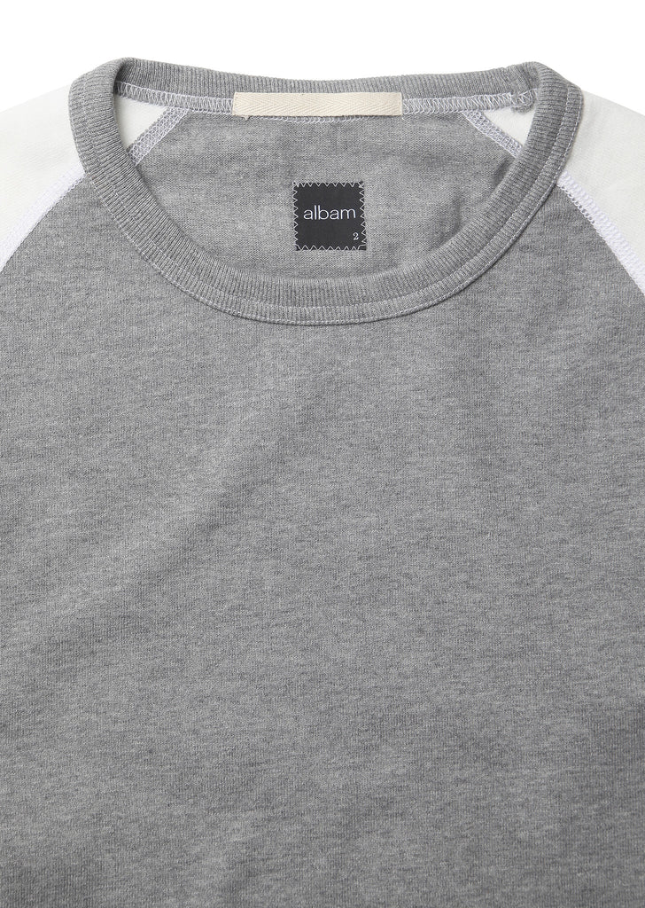 Contrast Athletic T-Shirt in Grey
