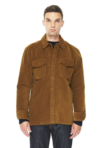 Marine Overshirt in Tan