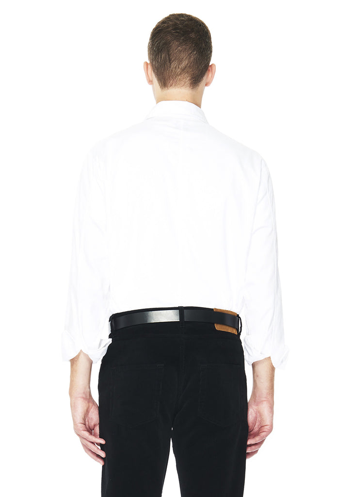 Twill Hemingway Shirt in White