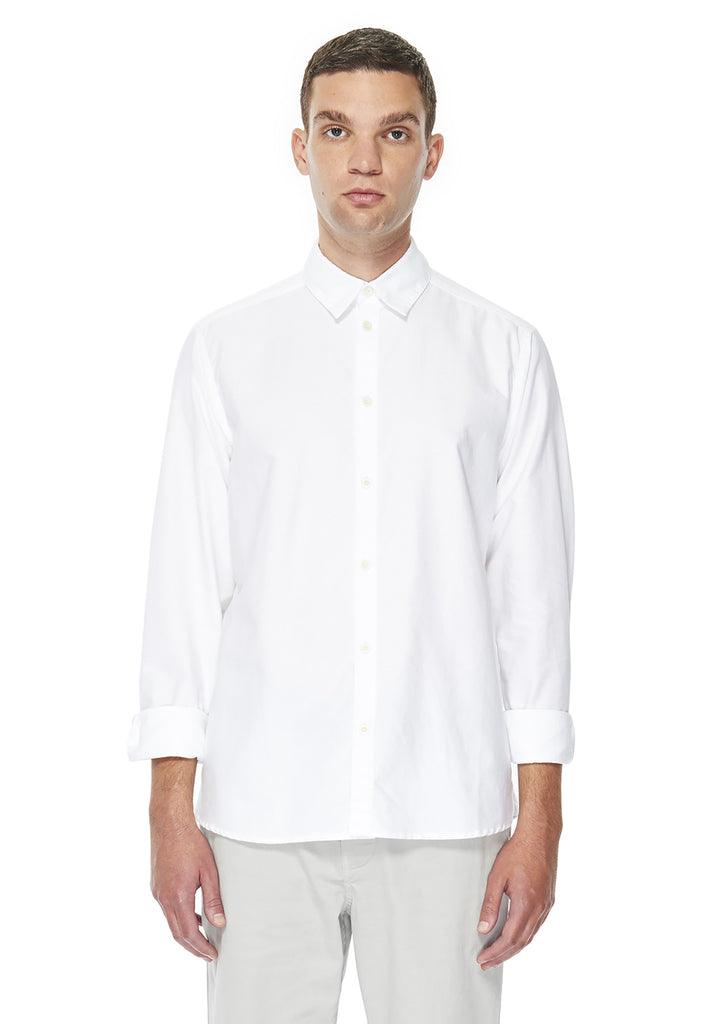 Easy Shirt in White Oxford