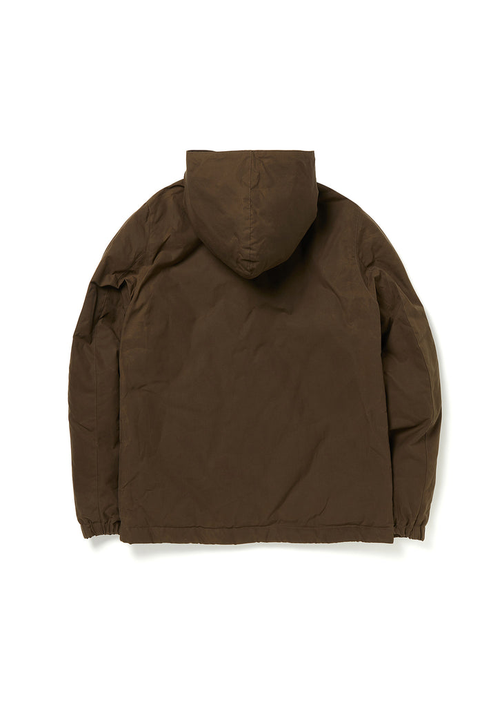 Wadded Road Coat in Olive